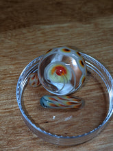 Seigaiha Glass Terp Slerper Marble and Pearl Set Fire Themed
