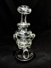 Worm Glass Dual Uptake Recycler | Heady Glass | Instagram
