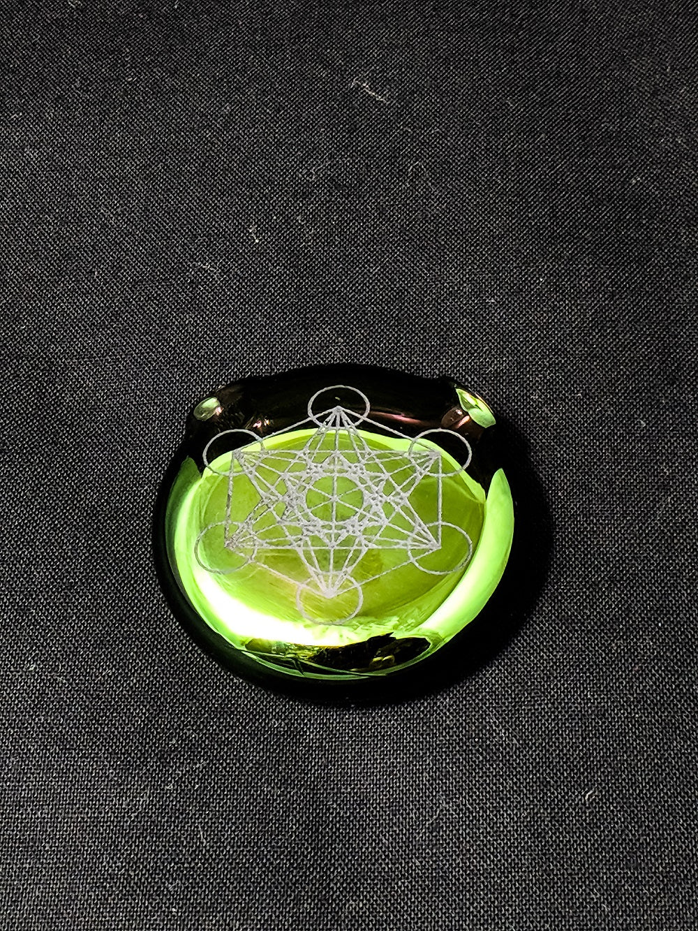 Kage Glass Metatrons Cube Pendant | Heady Glass | Instagram