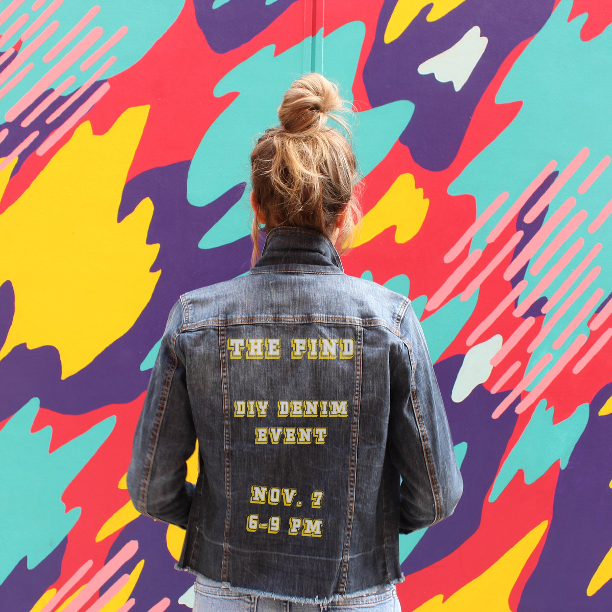 DIY Denim Jacket Event