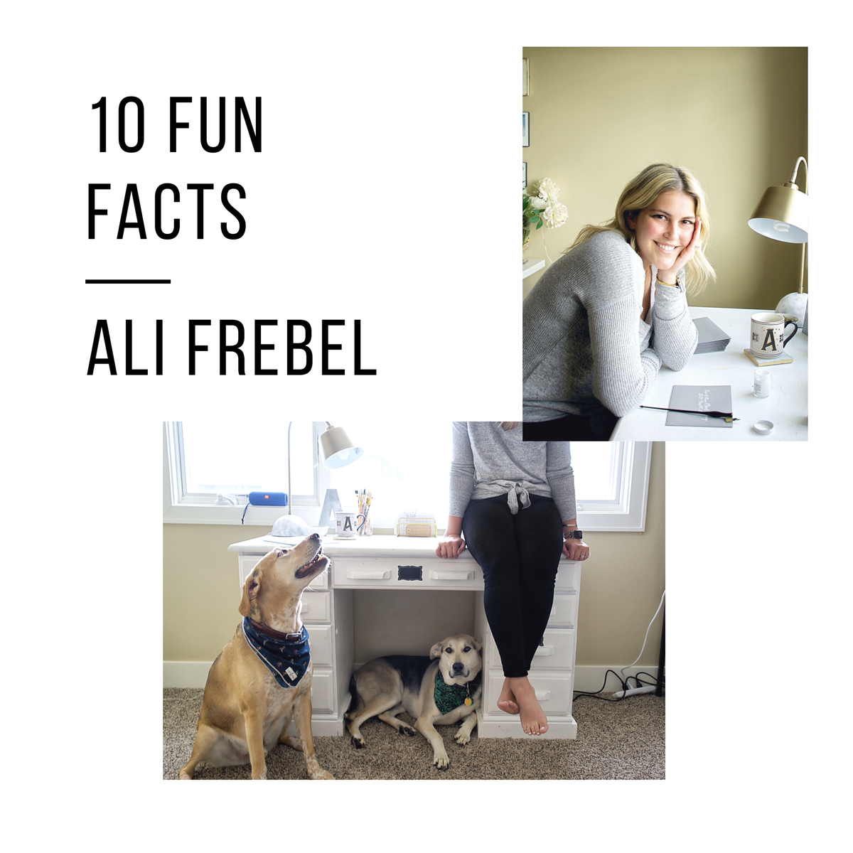 10 Fun Facts: Ali Frebel | Frebella Calligraphy & Design