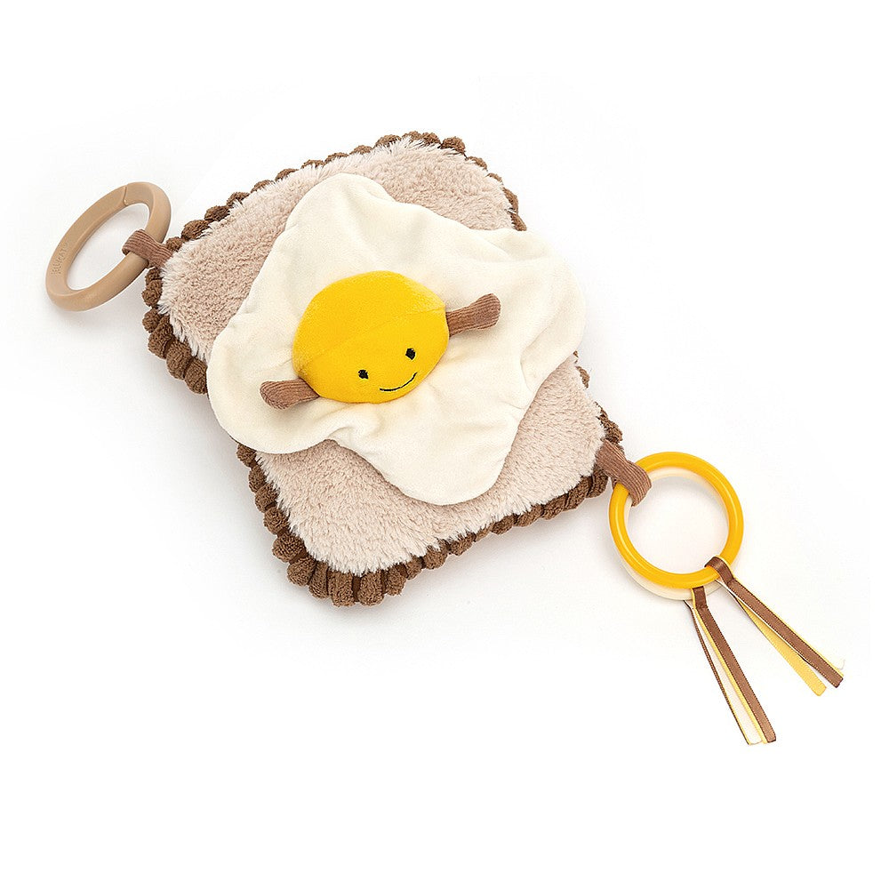 Jellycat Amuseable Egg on Toast Activity Toy