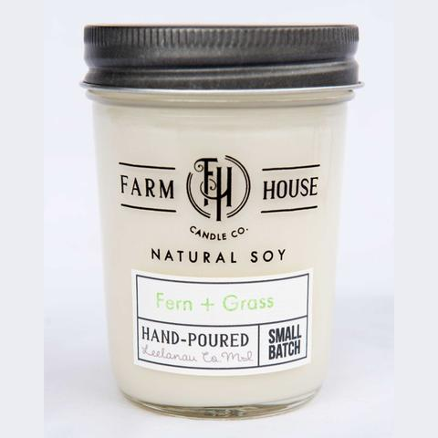 Farm House Candle Company Fern & Grass
