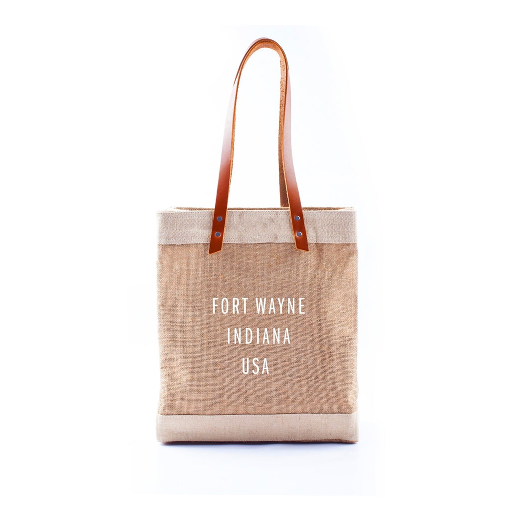 Apolis Fort Wayne Indiana Long Handle Tote
