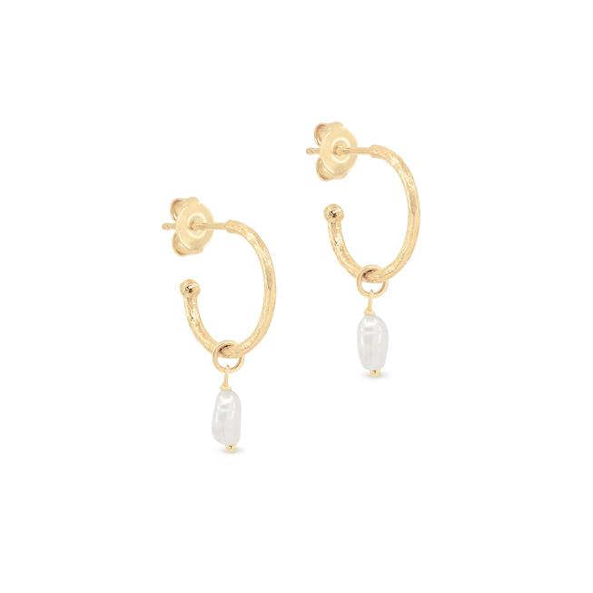 By Charlotte Gold Eternal Peace Hoops