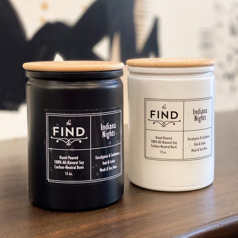 Indiana Nights Candle by The FIND