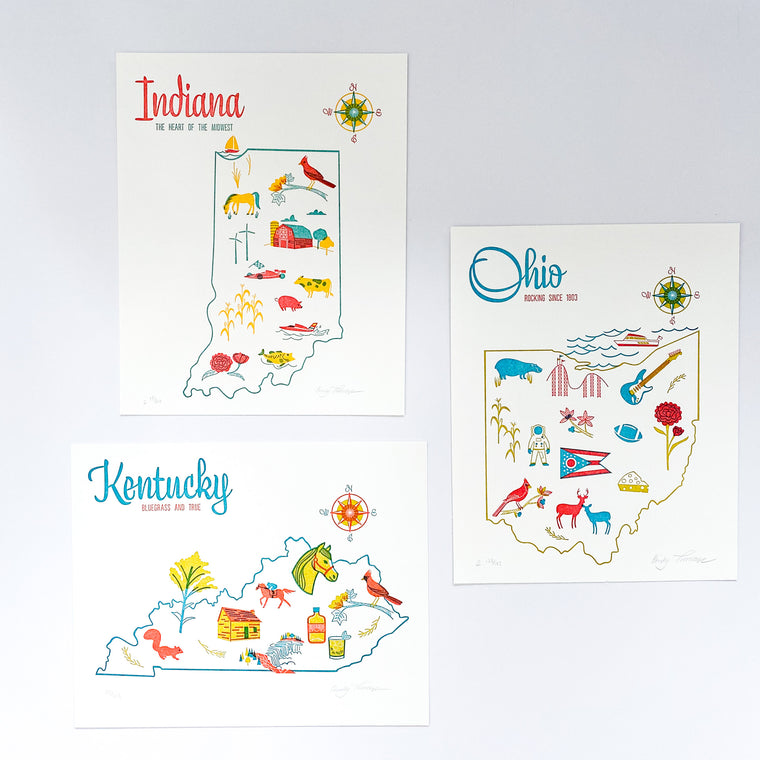 Paper Parasol Press Art Prints, multiple options