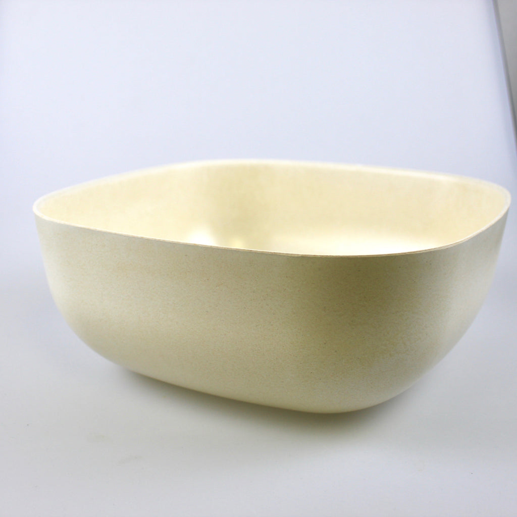 Ekobo Large Salad Bowl White