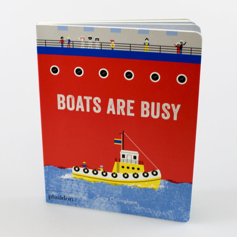 Phaidon Boats Are Busy Book