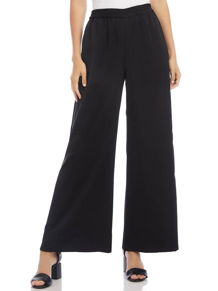 Fifteen Twenty Wide Leg Pant, Black