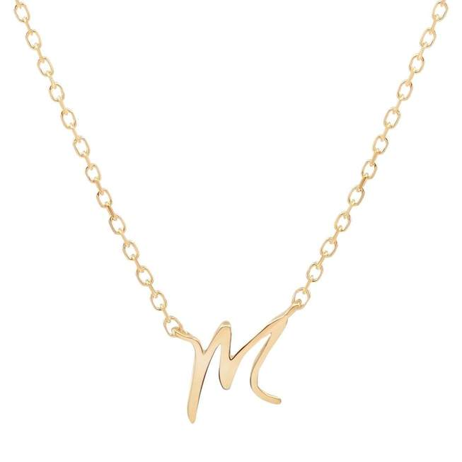 By Charlotte Love Initial Necklace, multiple options
