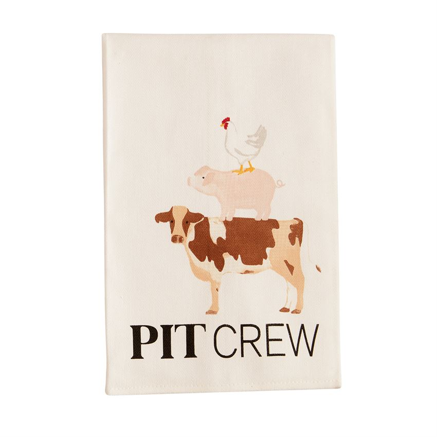 Mud Pie BBQ Towels, multiple options