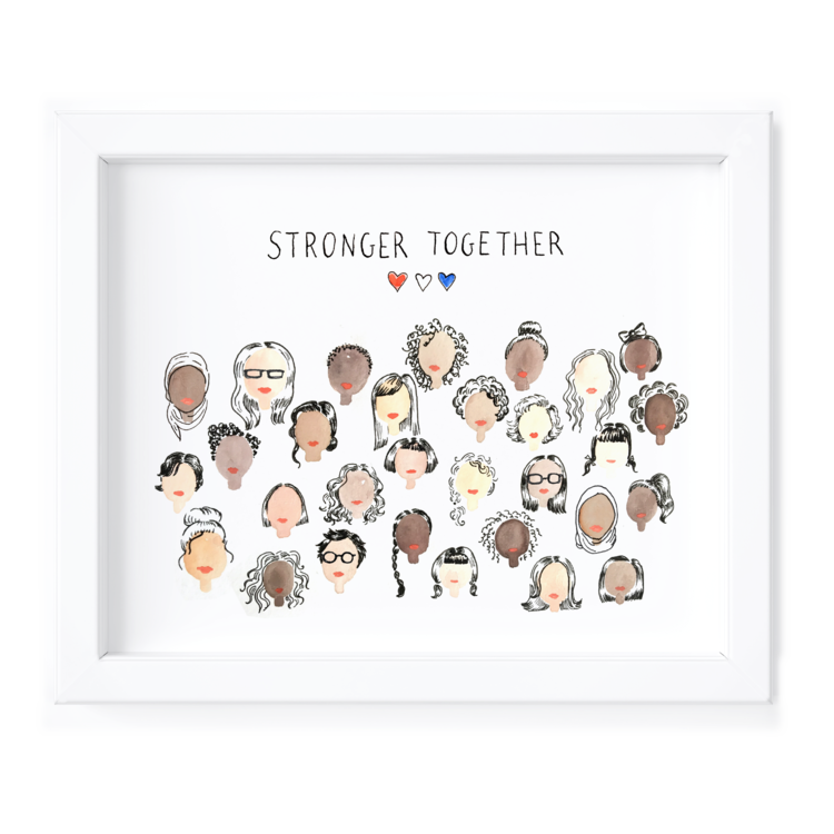 Kimothy Joy Art Print - Stronger Together