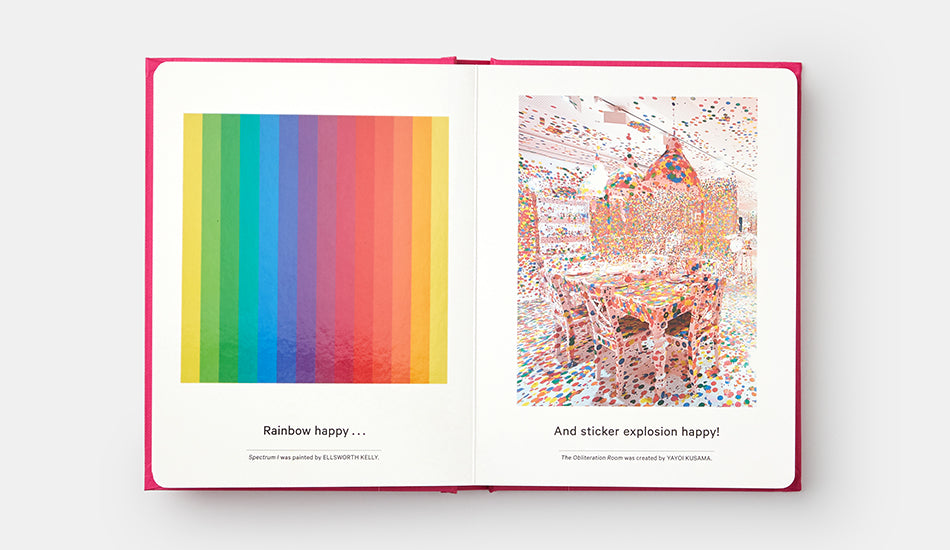 Phaidon My Art Book of Happiness, by Shana Gozansky