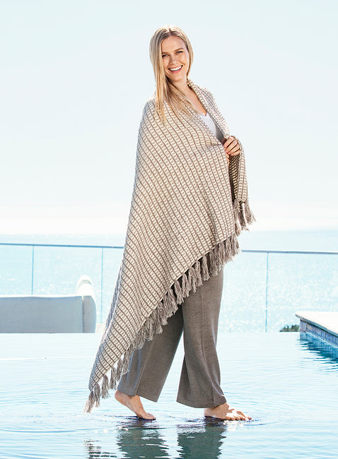 Barefoot Dreams Cozychic Beach House Throw Blanket