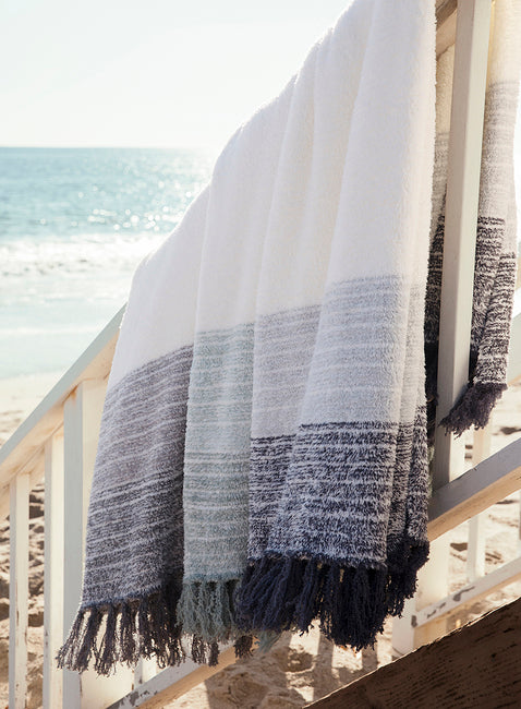 Barefoot Dreams Cozychic Horizon Throw Blanket