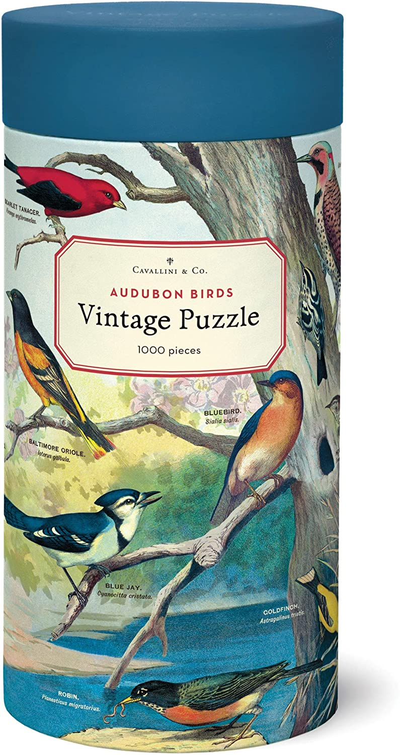 Cavallini & Co. Vintage Print Puzzles, multiple options