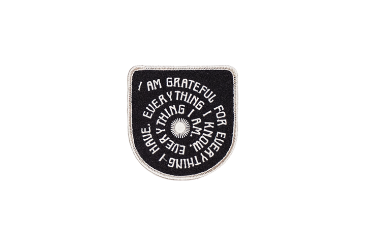 Oxford Pennant Patch - Grateful
