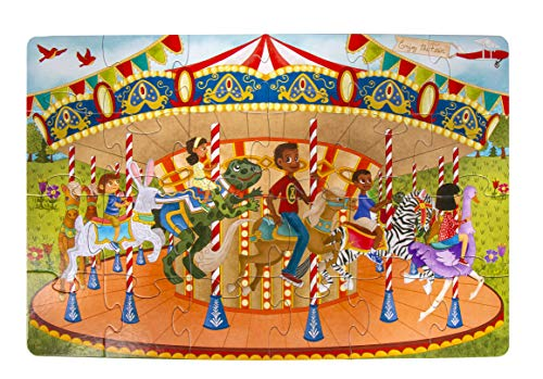 Little Likes Kids Puzzle, Joyful Carousel