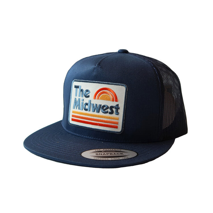 Acme Local Midwest Sunset Snapback Hat