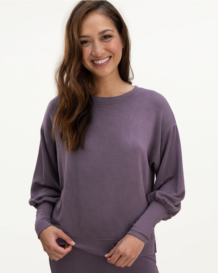 Splendid Eco Supersoft Flora Pullover, multiple colors