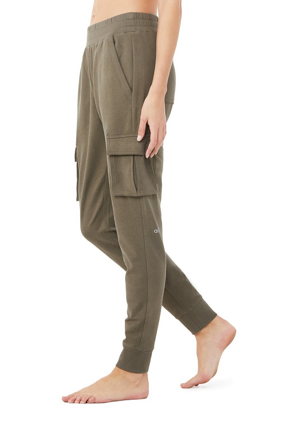 Alo Unwind Cargo Pant, Olive Branch