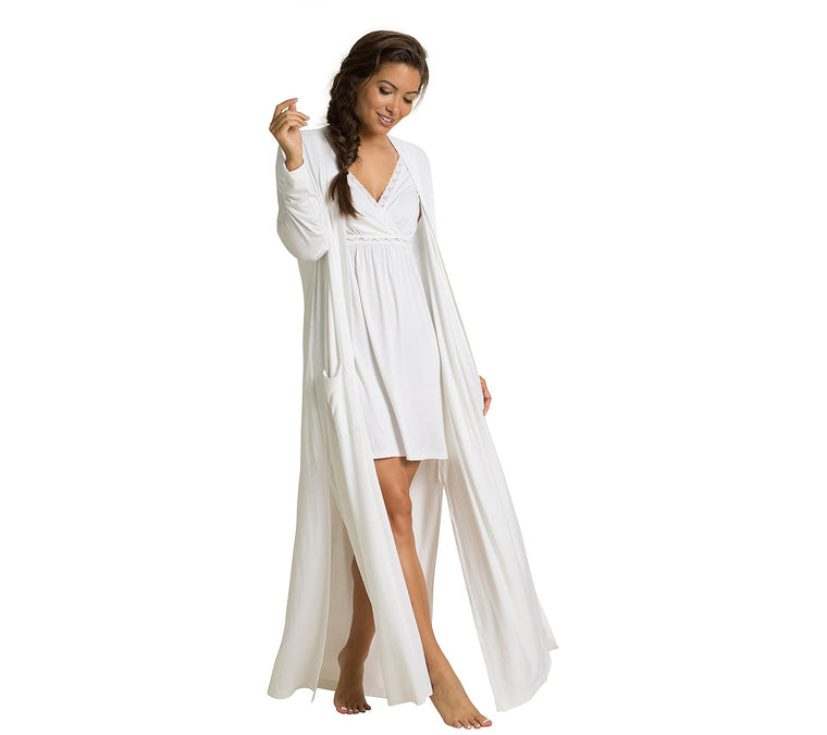 Barefoot Dreams Adult Luxe Milk Jersey Duster Robe, multiple options