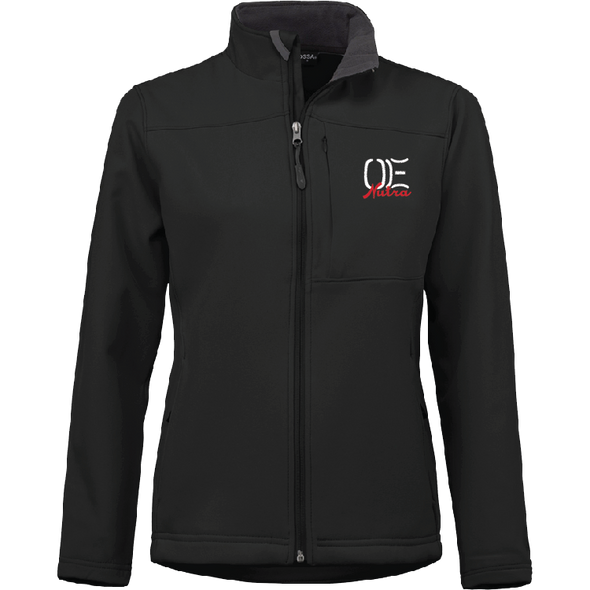 Ladies 2018 World Finals Contestant Soft Shell Jacket - BLACK