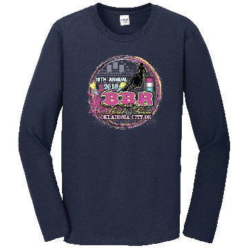 Navy • 2018 World Finals Long Sleeve Tee w/5 Color Logo