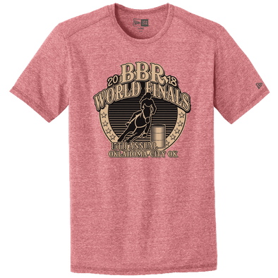 Crimson • 2018 World Finals Performance Crew Tee w/2 Color Logo