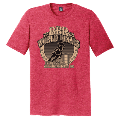 Red Frost • 2018 World Finals Perfect Tri Crew Tee w/2 Color Logo