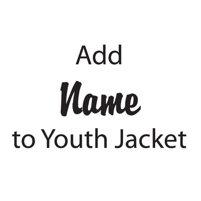 Personalization for Youth Jacket