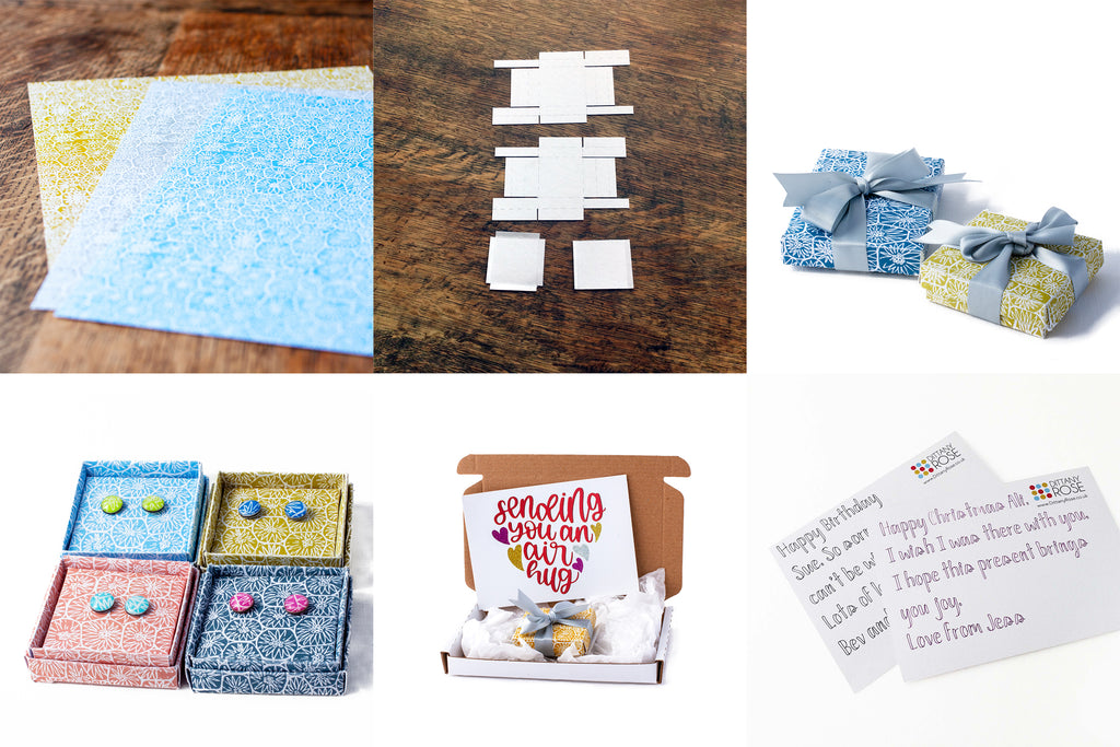dittanyrose jewellery comes in handmade boxes