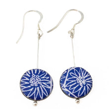 Anemone drop earrings - rare colours