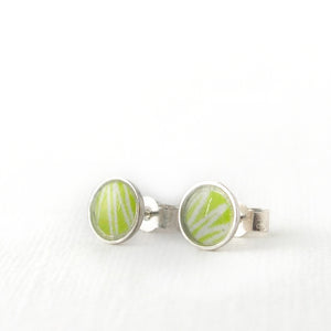 Anemone stud earrings, tiny