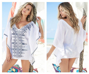 7836 Cover-Up Beach Dress