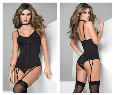 2504 Bodysuit With Garters