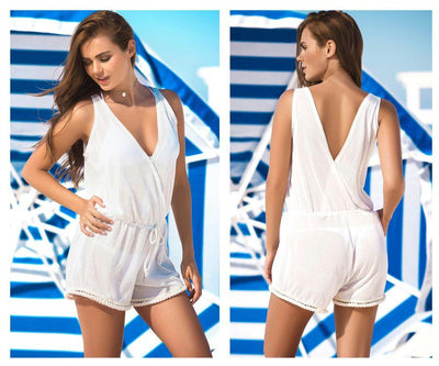 7866 Cover Up and Beach Romper