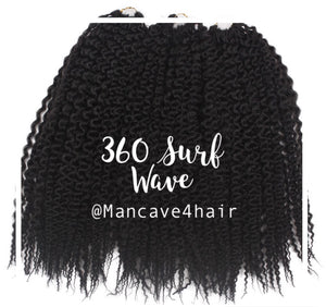 360 Surf Wave Fill-in Hair