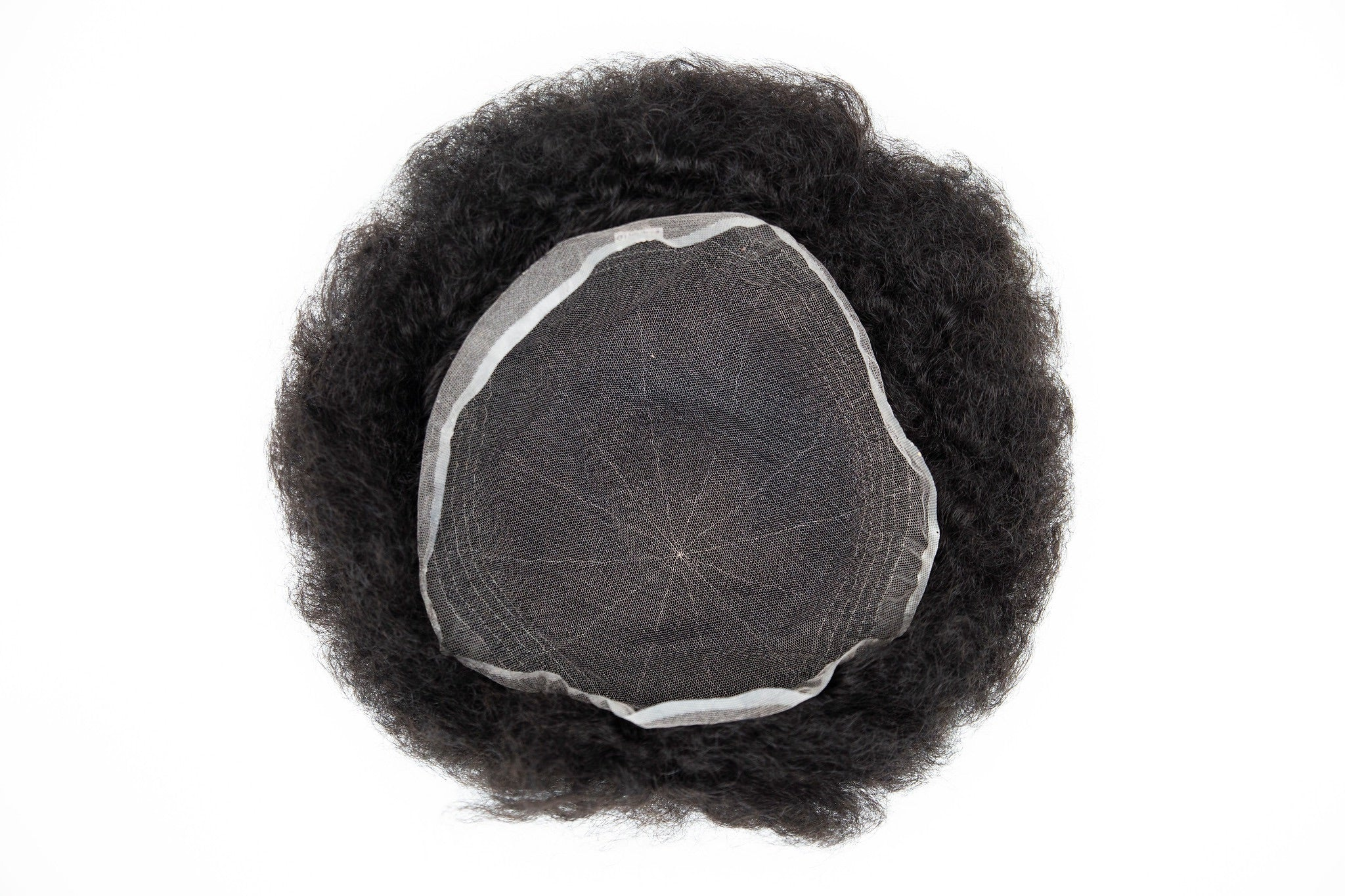 Afro Kinky Premium Male Hair Unit