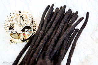 100% Human Hair Dread Locks