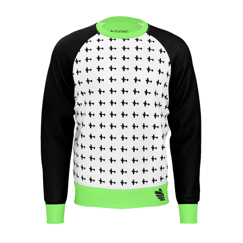 AERO PATTERN MEN'S SWEATSHIRT 350gsm
