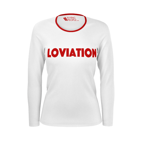 LOVIATION LONG SLEEVE WOMEN'S T'SHIRT