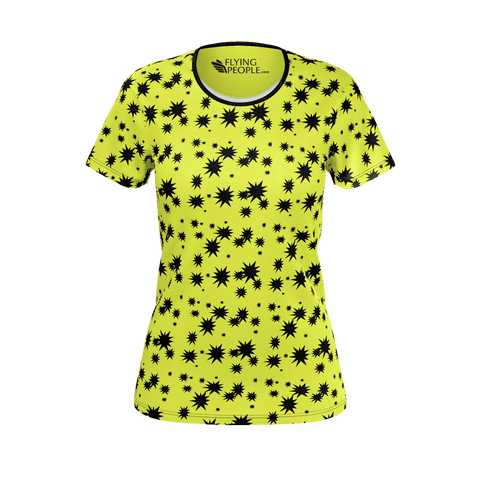 STAR PATTERN WOMEN'S T'SHIRT