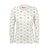 CESSNA PATTERN WOMEN'S LONG SLEEVE T'SHIRT