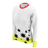STAR PATTERN HALF PRINT WOMEN'S SWEATSHIRT 260gsm