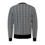 G2 PATTERN GREY MEN'S SWEATSHIRT 250gsm