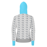 G2 PATTERN WOMEN'S PULLOVER HOODIE 260gsm