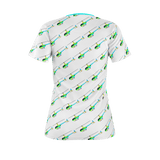 R44 COLOUR PATTERN WOMEN'S T'SHIRT