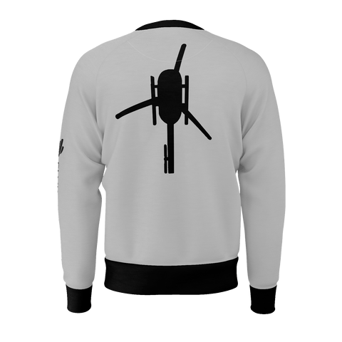 HELI TOP VIEW MEN'S SWEATSHIRT 260gsm